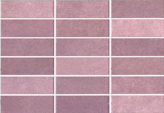Wall tiles. White tiles look. Essen morado 9.06x12.99