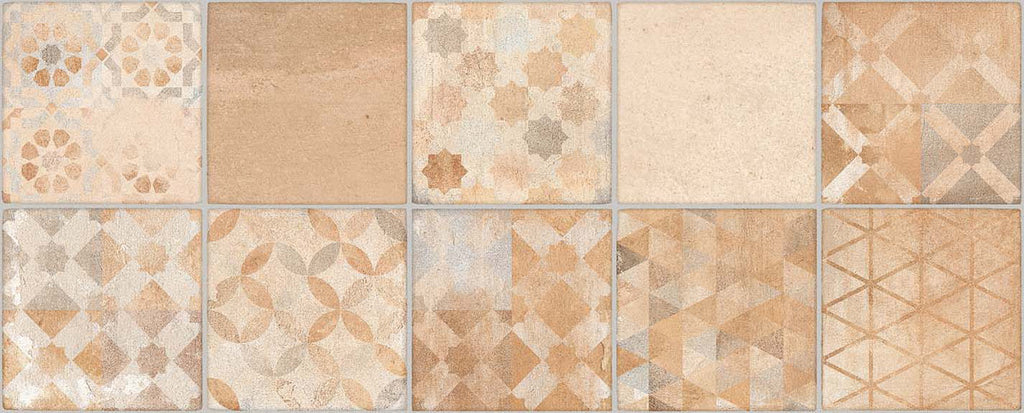 Wall tiles. Cotto look. Lynton multicolor 7.87x19.69