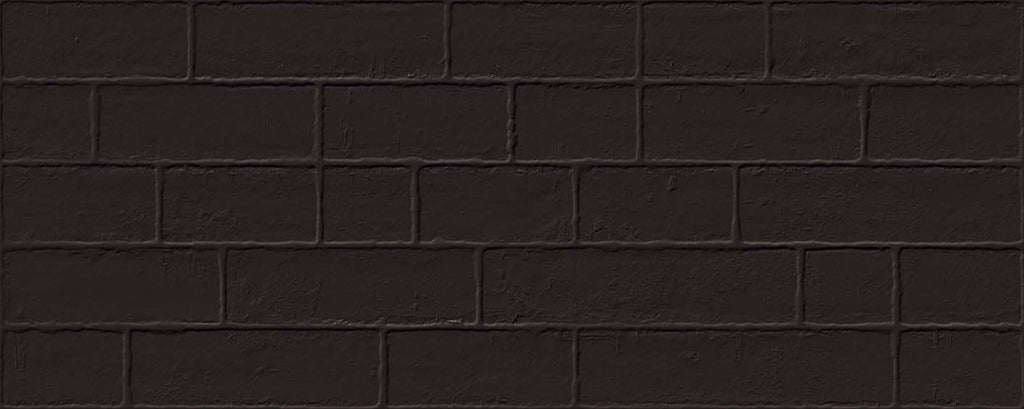 Wall tiles. Cotto look. Edale negro 7.87x19.69