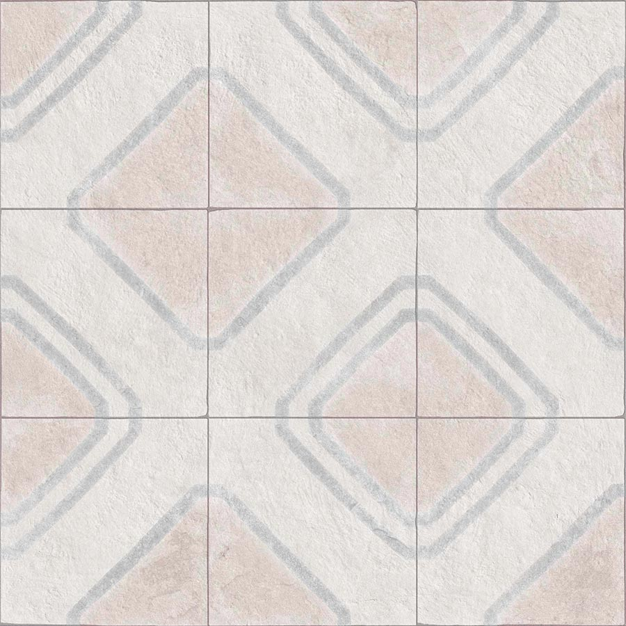 Porcelain tiles. Stone look. Ceos blanco 23.62x23.62