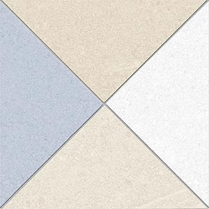 Porcelain tiles. Encaustic cement tiles look. Seguin-r cielo 5.91x5.91