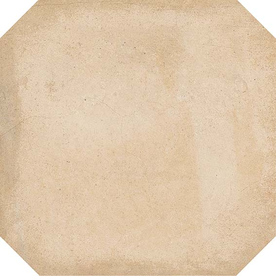 Porcelain tiles. Cotto look. Octógono colton beige 7.87x7.87