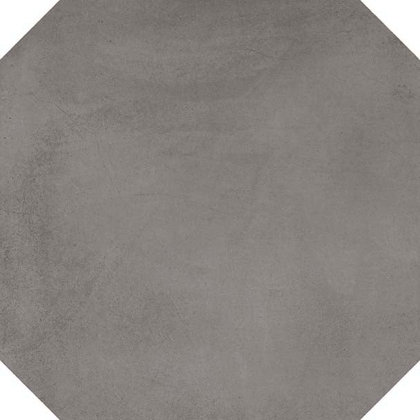 Porcelain tiles. Cotto look. Octógono colton grafito 7.87x7.87