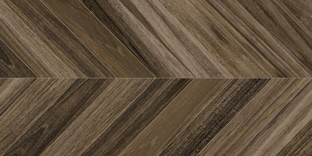 Porcelain tiles. Wood look. Agadir-r carbon 23.62x47.24