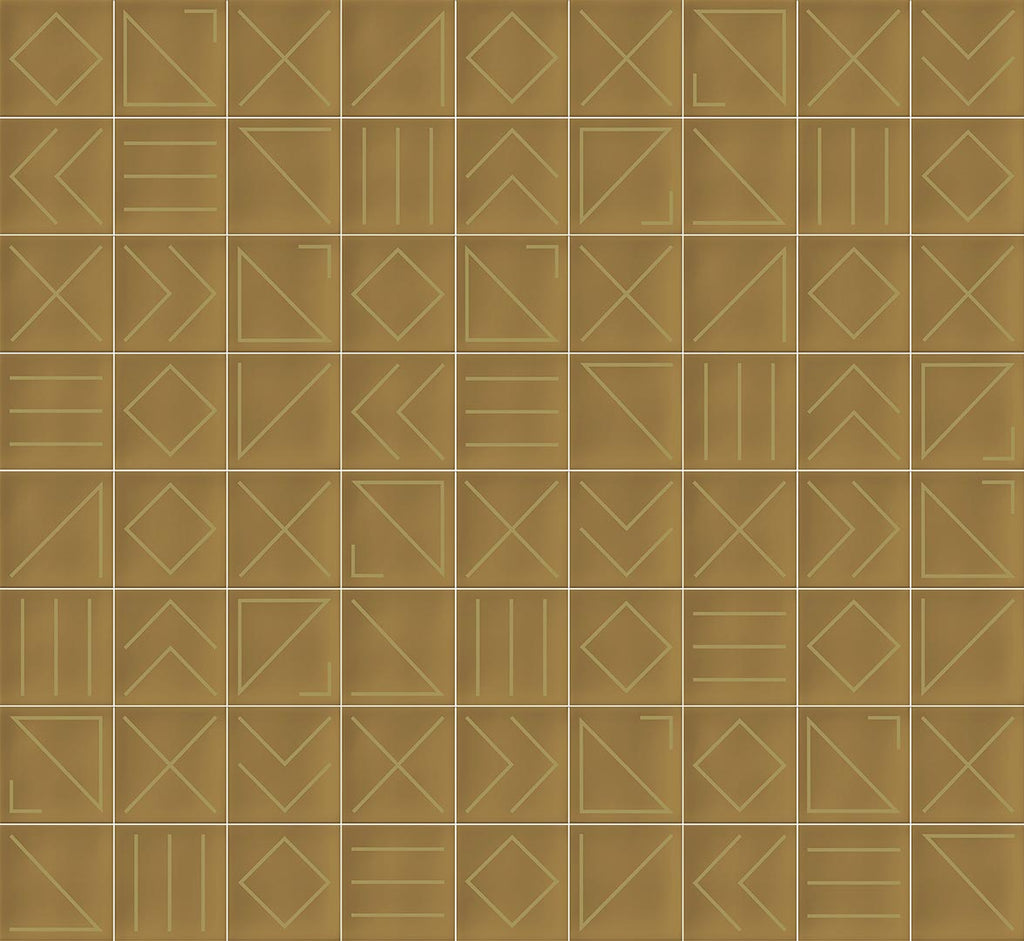 Wall tiles. Ceramic heritage look. Nagano caramelo 9.06x12.99