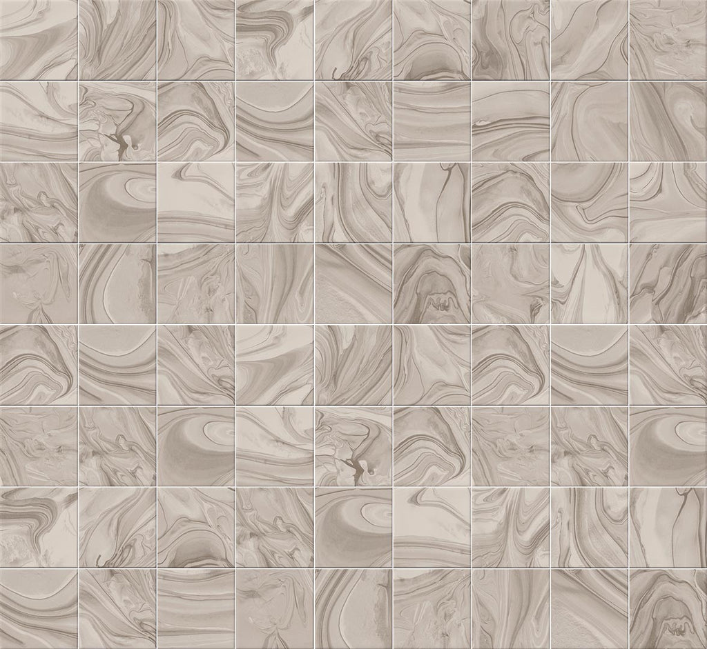 Wall tiles. Ceramic heritage look. Mankai nuez 9.06x12.99