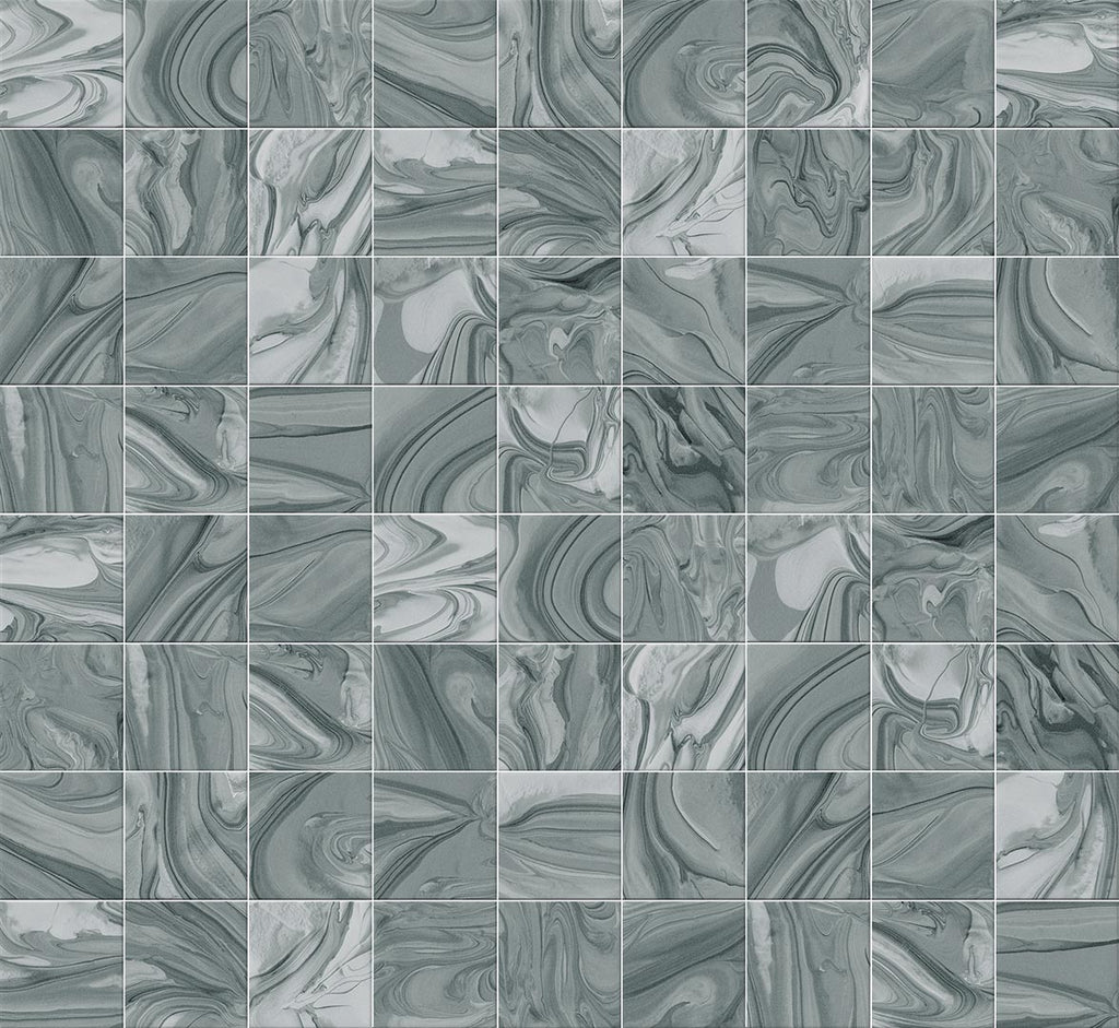 Wall tiles. Ceramic heritage look. Mankai turquesa 9.06x12.99