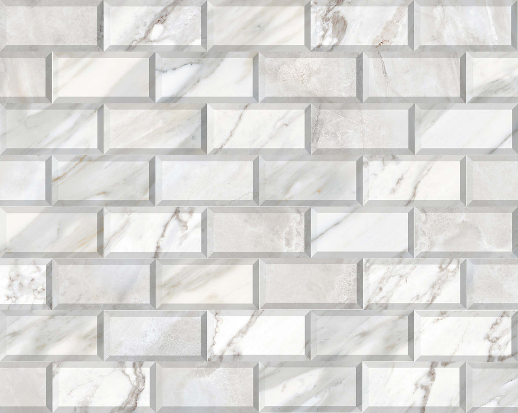 Wall tiles. Marbles look. Wilson blanco 3.94x7.87