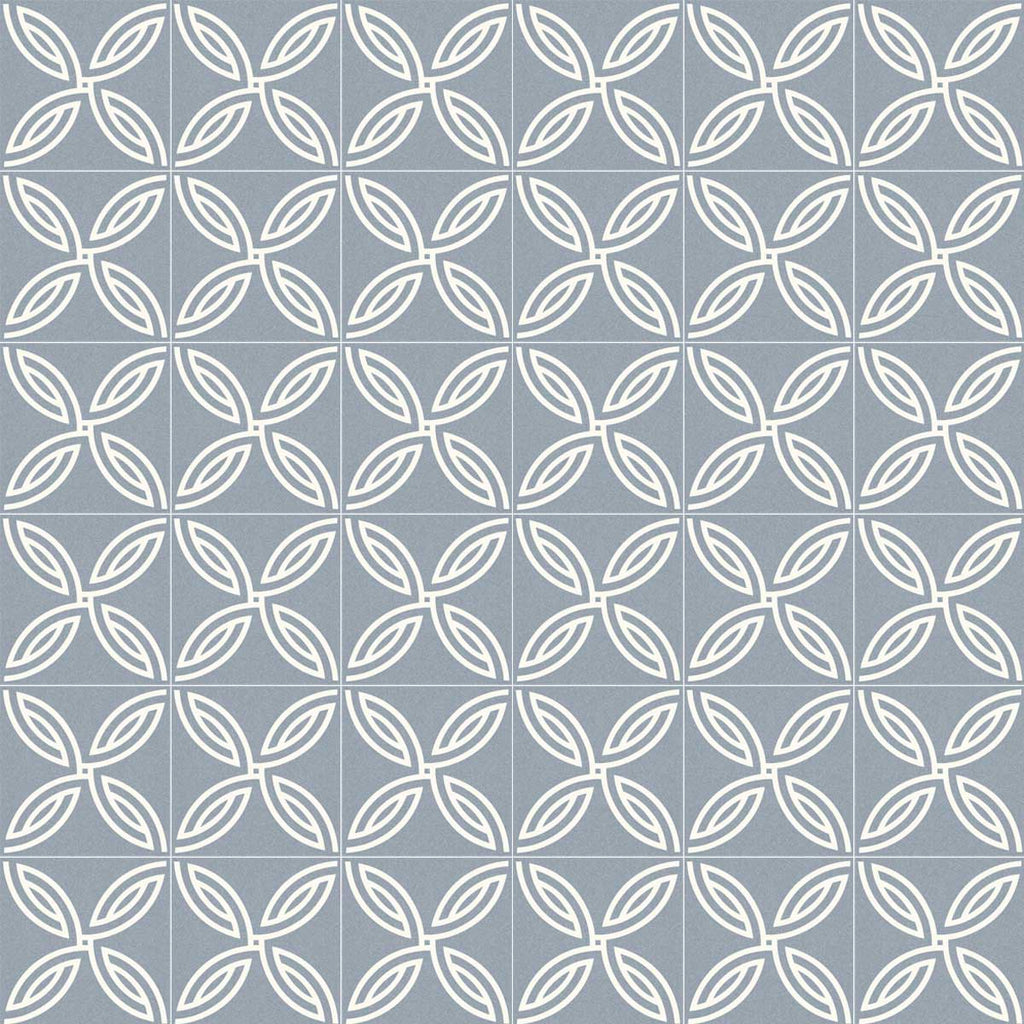 Porcelain tiles. Encaustic cement tiles look. Andrassy-r cielo 7.87x7.87