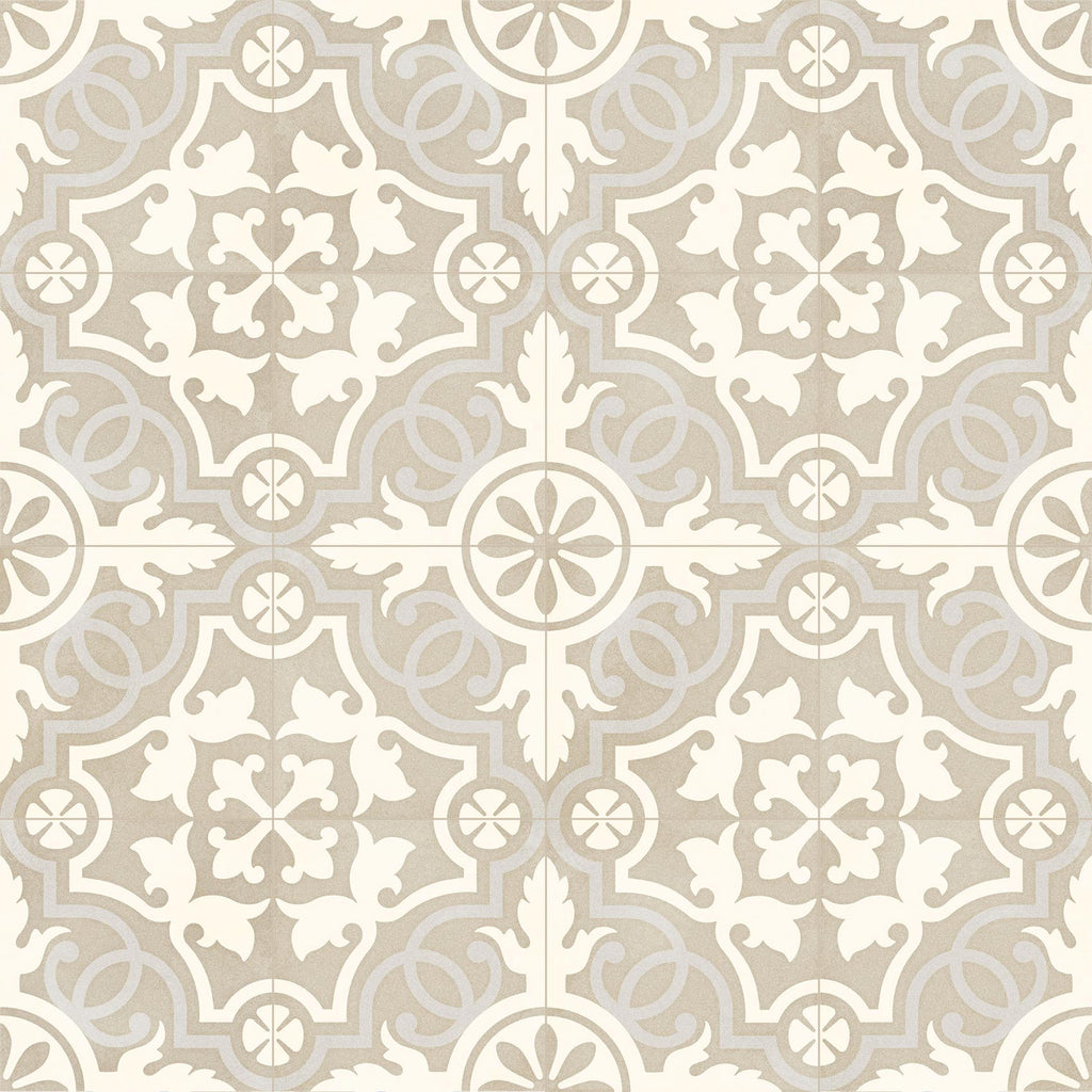Porcelain tiles. Encaustic cement tiles look. Tulpan 7.87x7.87