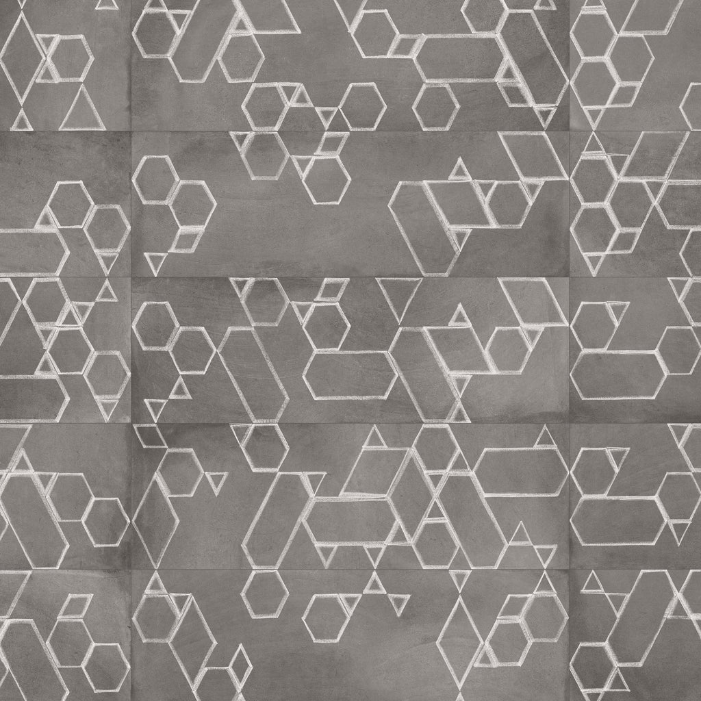 Wall tiles. Cotto look. Firle grafito 9.84x29.53