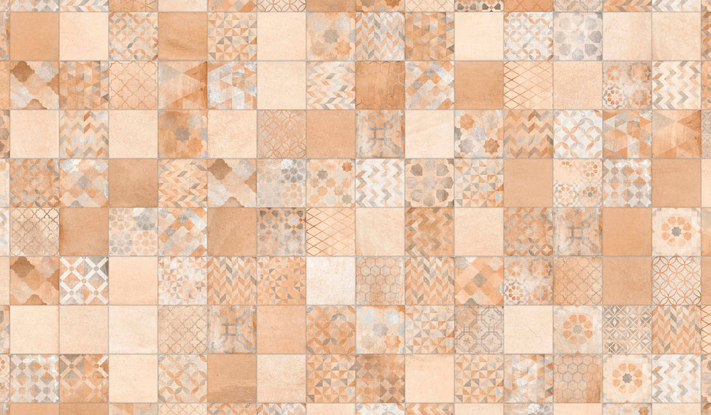 Wall tiles. Cotto look. Lynton-r multicolor 12.6x38.98