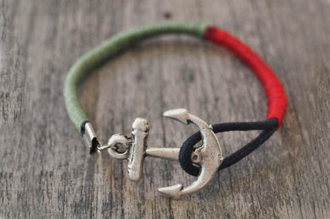 Buoy Colors Leather Bracelet
