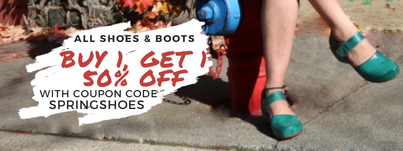 Buy 1, Get 1 50% Off on All Shoes and Boots with Code SpringShoes