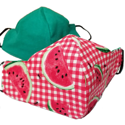 Watermelon Picnic Triple Layer Face Mask