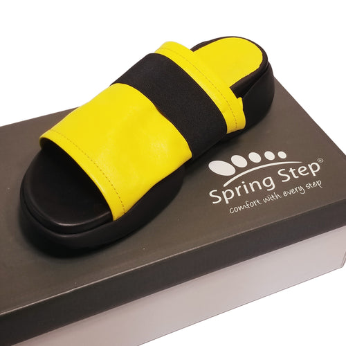 Yellow Slide Sandal from Turkey