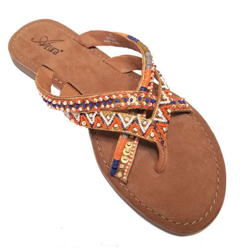 Beaded Thong Sandal from India