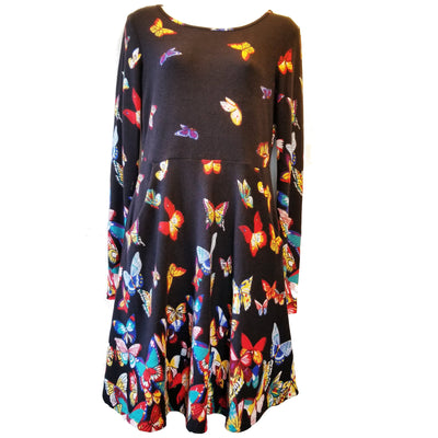 Butterflies Sweater Dress by LA Soul