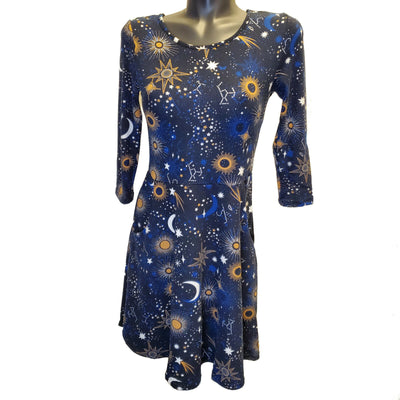 Celestial Sweater Dress by LA Soul