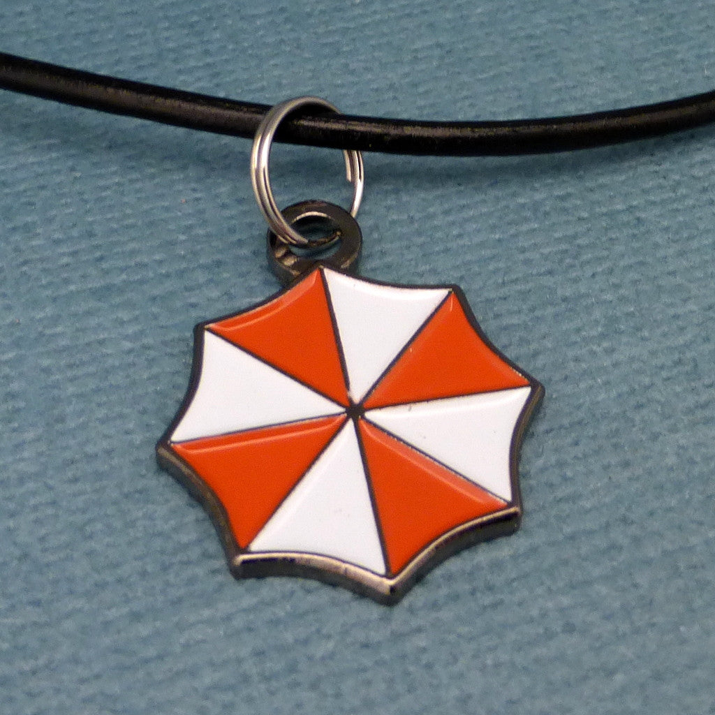 Resident Evil Inspired - Umbrella Corporation - Keychain or Necklace