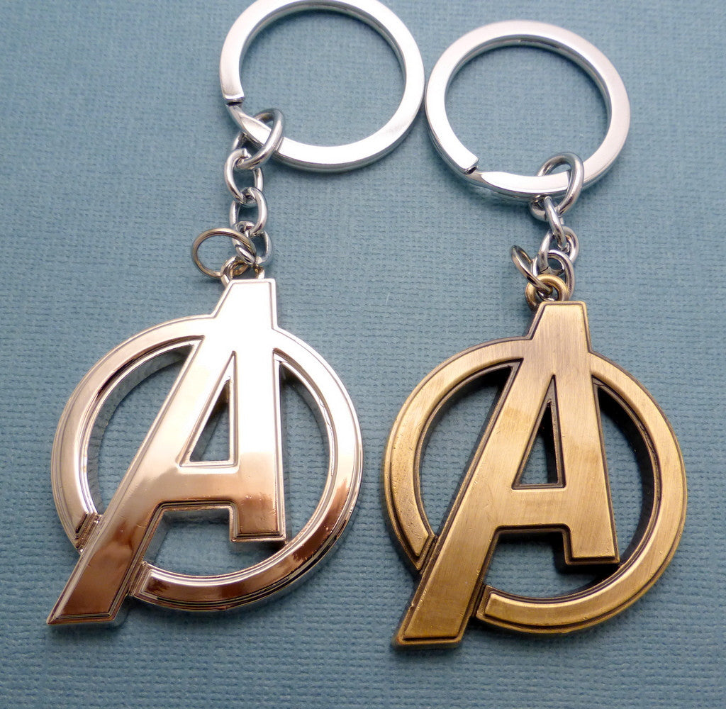The Avengers Inspired - Logo Keychain or Necklace