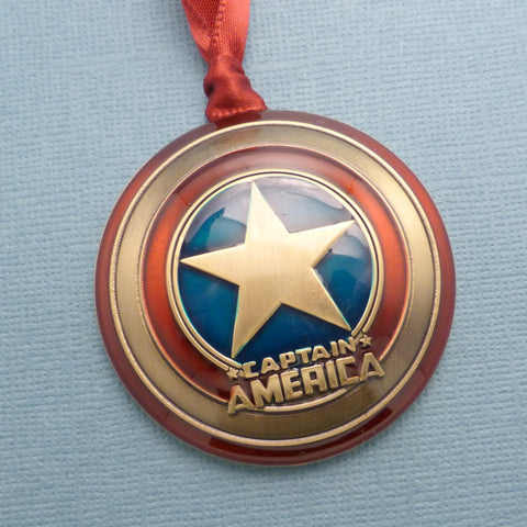 Captain America Inspired - Logo Ornament