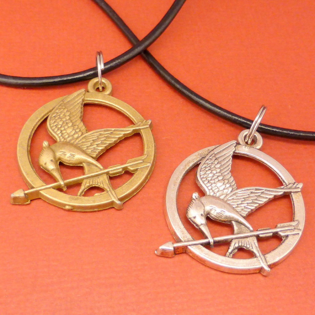 Hunger Games Inspired - The Mockingjay Necklace