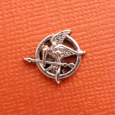 The Hunger Games Inspired - Mockingjay Floating Locket Charm