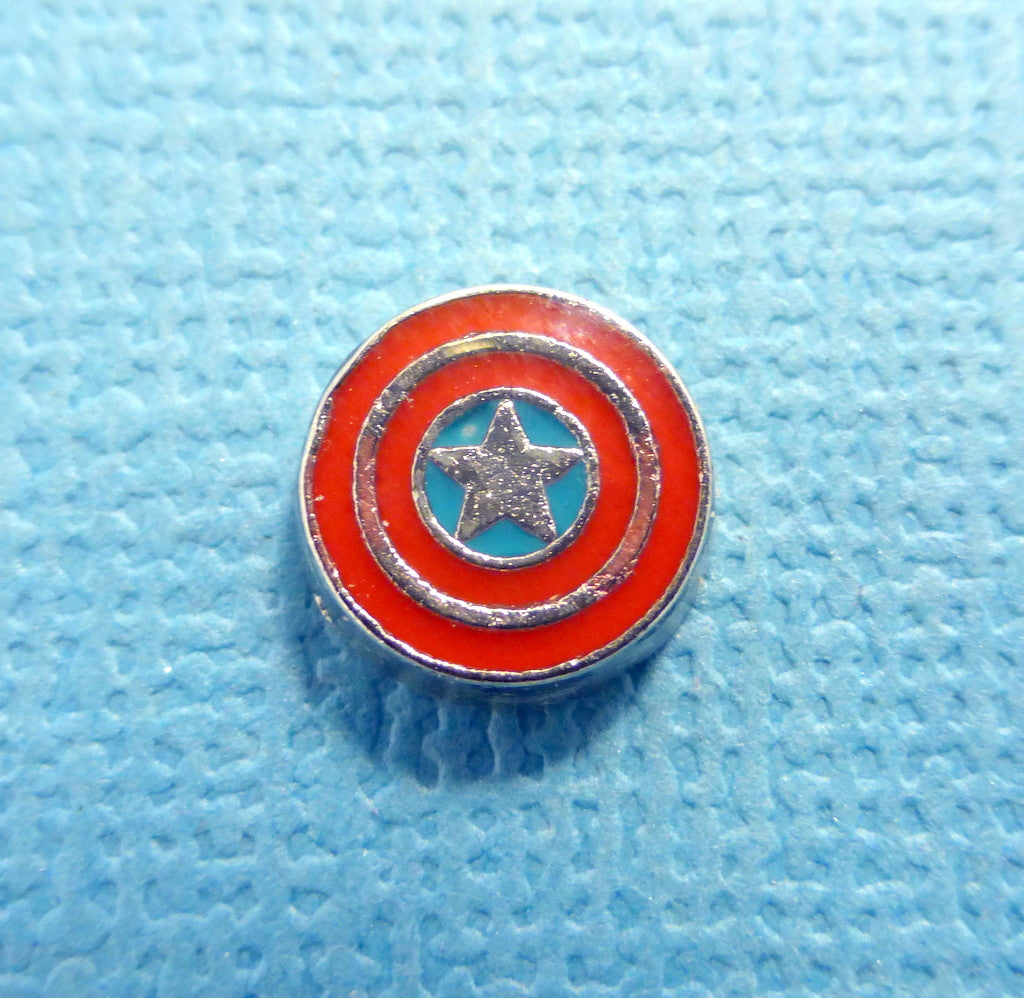 Marvel - Captain America - Floating Charm