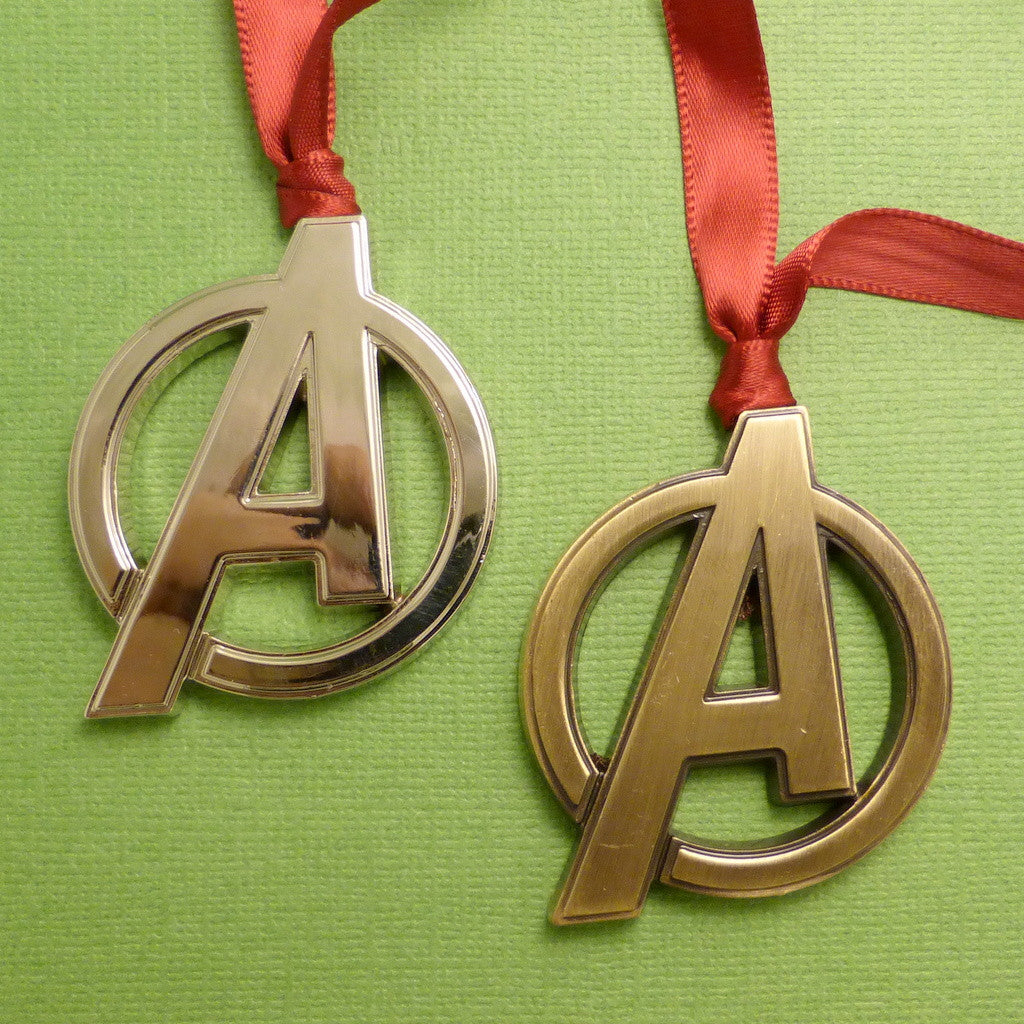 The Avengers Inspired - Logo Ornament