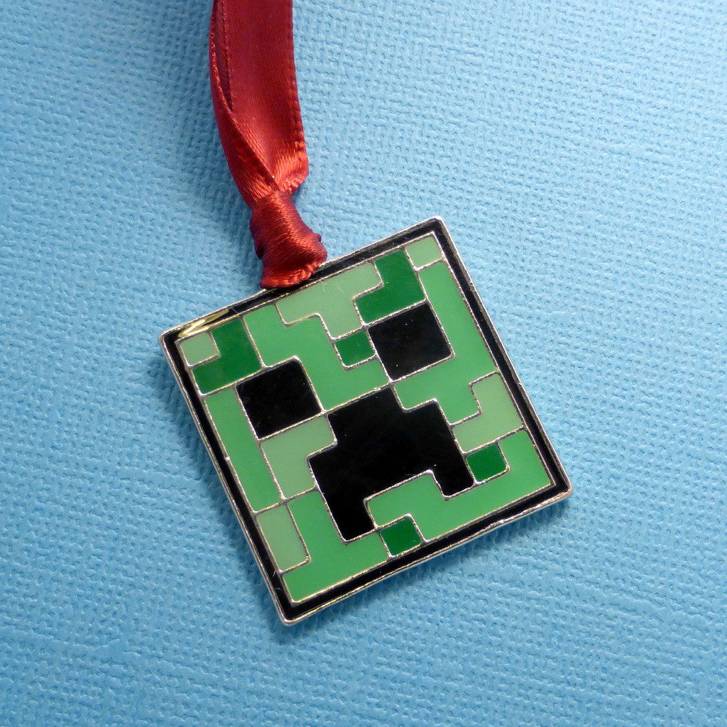 Minecraft Creeper Ornament