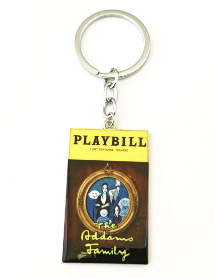 Broadway Inspired - The Addams Family - Keychain, Necklace, or Ornament