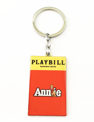 Broadway Inspired - Annie - Keychain, Necklace, or Ornament