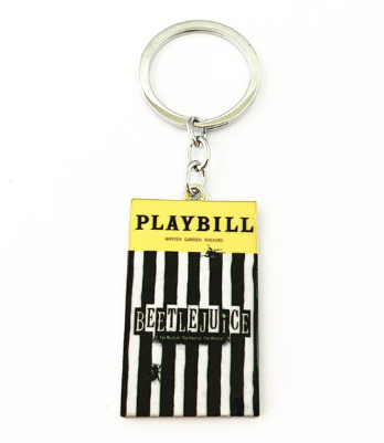 Broadway Inspired - Beetlejuice - Keychain, Necklace, or Ornament