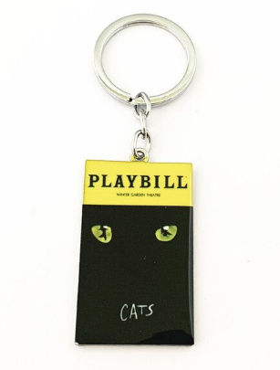 Broadway Inspired - CATS - Keychain, Necklace, or Ornament