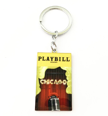 Broadway Inspired - Chicago - Keychain, Necklace, or Ornament
