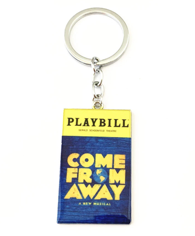 Broadway Inspired - Come From Away - Keychain, Necklace, or Ornament