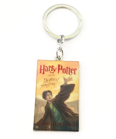Harry Potter Inspired - Deathly Hallows - Keychain, Necklace, or Ornament