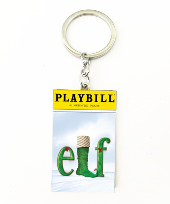 Broadway Inspired - Elf - Keychain, Necklace, or Ornament