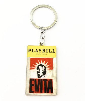 Broadway Inspired - Evita - Keychain, Necklace, or Ornament