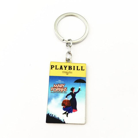 Broadway Inspired - Mary Poppins - Keychain, Necklace, or Ornament