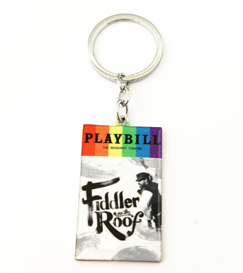 Broadway Inspired - Fiddler on the Roof - Keychain, Necklace, or Ornament