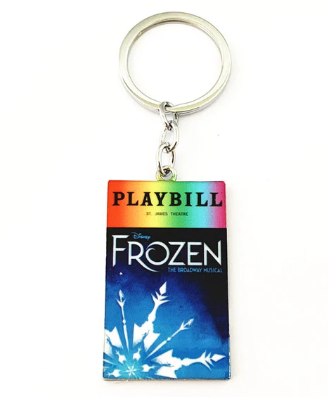 Broadway Inspired - Frozen - Keychain, Necklace, or Ornament