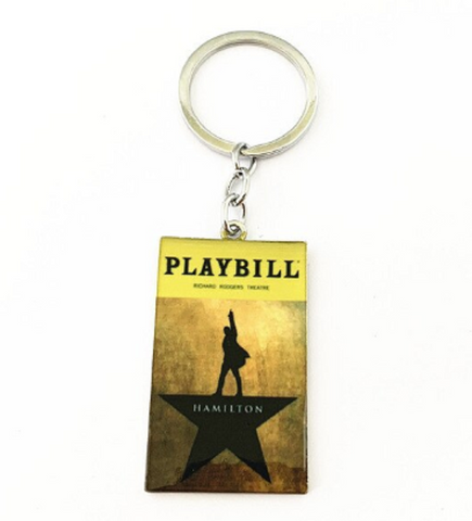 Broadway Inspired - Hamilton - Keychain, Necklace, or Ornament