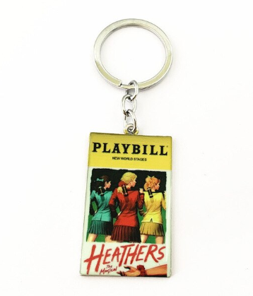 Broadway Inspired - Heathers - Keychain, Necklace, or Ornament