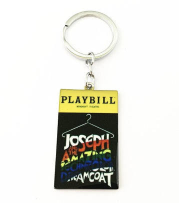 Broadway Inspired - Joseph and the Amazing Technicolor Dreamcoat - Keychain, Necklace, or Ornament