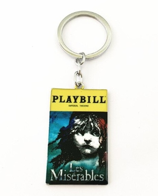 Broadway Inspired - Les Miserables - Keychain, Necklace, or Ornament