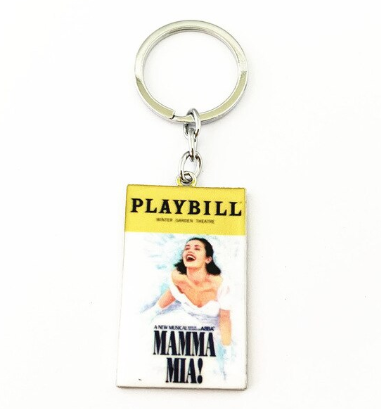 Broadway Inspired - Mamma Mia - Keychain, Necklace, or Ornament