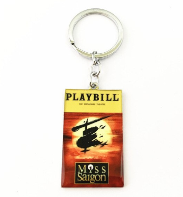 Broadway Inspired - Miss Saigon - Keychain, Necklace, or Ornament
