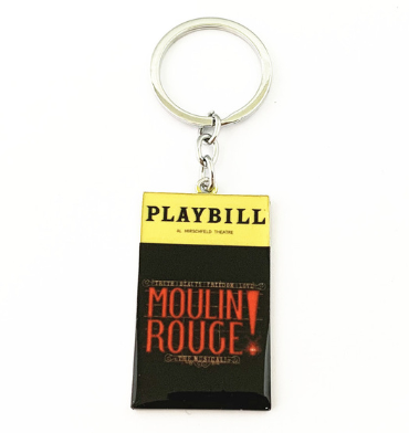 Broadway Inspired - Moulin Rouge - Keychain, Necklace, or Ornament